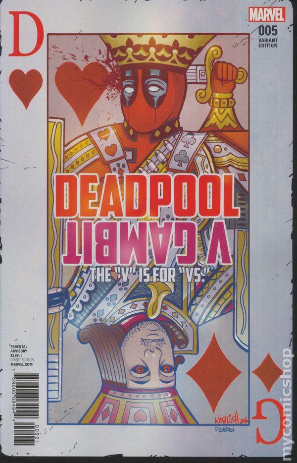 Deadpool V Gambit #1 Variant Edition  Marvel Comics CB19085