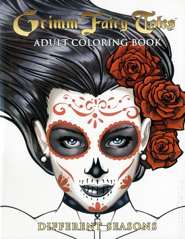 Grimm Fairy Tales Adult Coloring Book SC 2016 Zenescope Different Seasons Edition 1