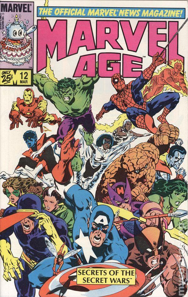 The Avengers Annual Comic Book #12 Marvel Comics 1983 VERY FINE