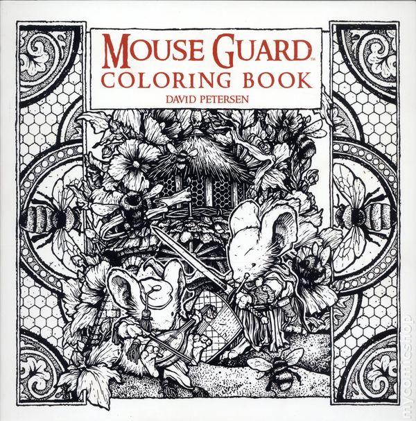 Mouse Guard Coloring Book SC 2016 Boom Studios 1 1ST