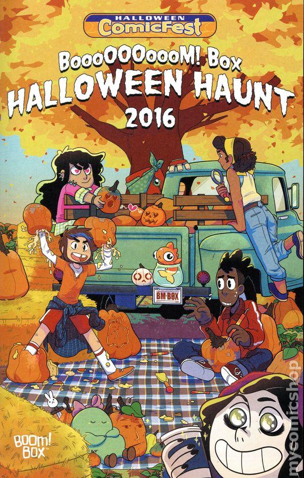 Boom Box Halloween Haunt (2016 Boom Studios) Halloween ComicFest ...