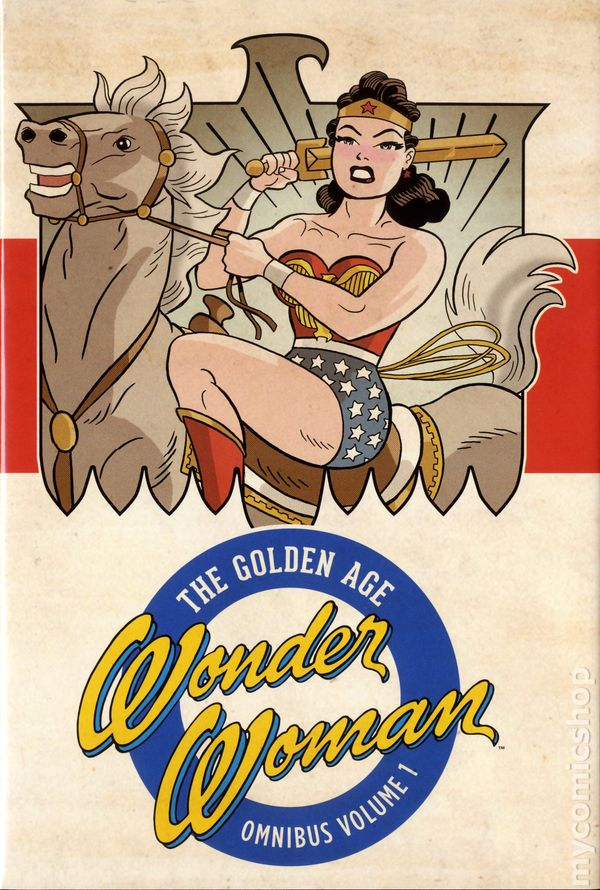 Wonder Woman The Golden Age Omnibus HC #1-1ST