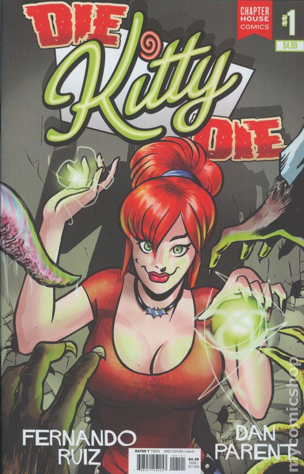 Die Kitty Die #1 Chapter House Comics
