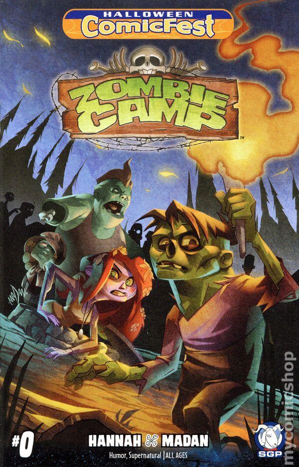 Zombie Camp (2016 Space Goat Publishing) 2016 Halloween ComicFest ...