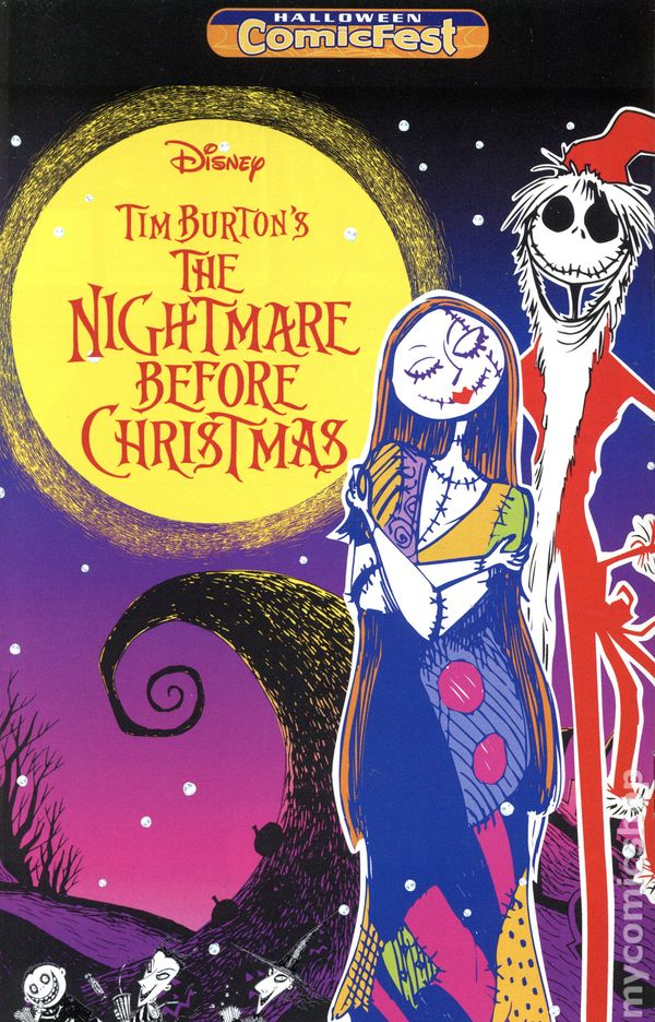 Nightmare Before Christmas (2016 Tokyopop) 2016 Halloween ...