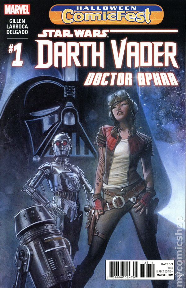 star wars darth vader doctor aphra 2016 marvel 2016 halloween comicfest comic books - Halloween Darth Vader