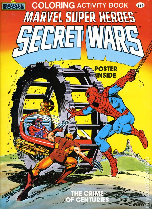 Marvel Super Heroes Secret Wars Coloring Activity Book Sc