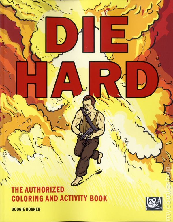 Die Hard The Authorized Coloring And Activity Book SC 2016 Harper Design 1