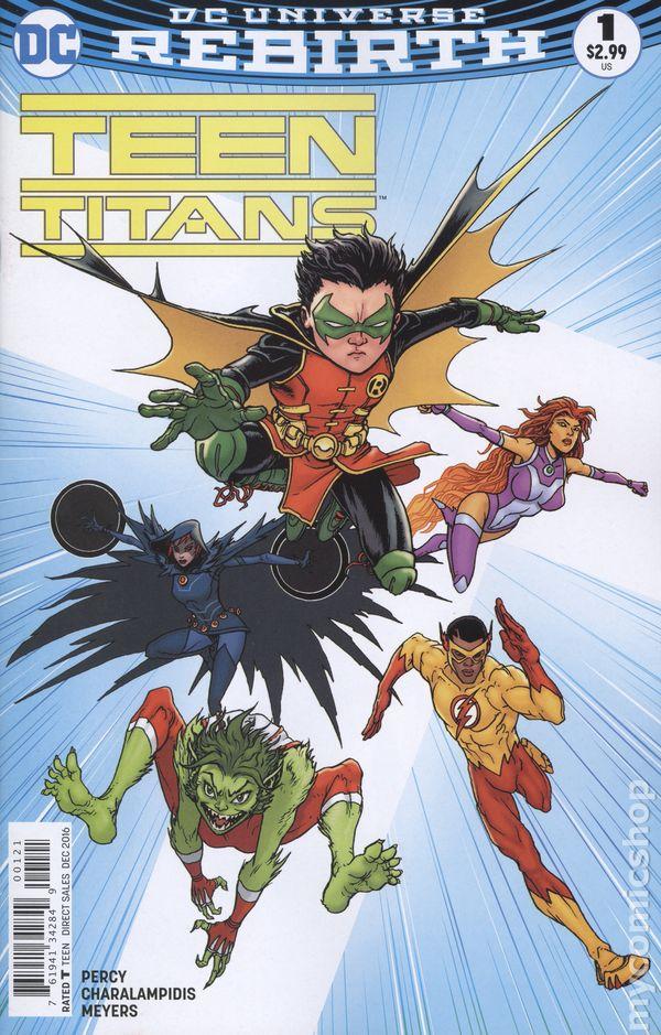 Teen Titans 2016 6Th Series Comic Books-1077