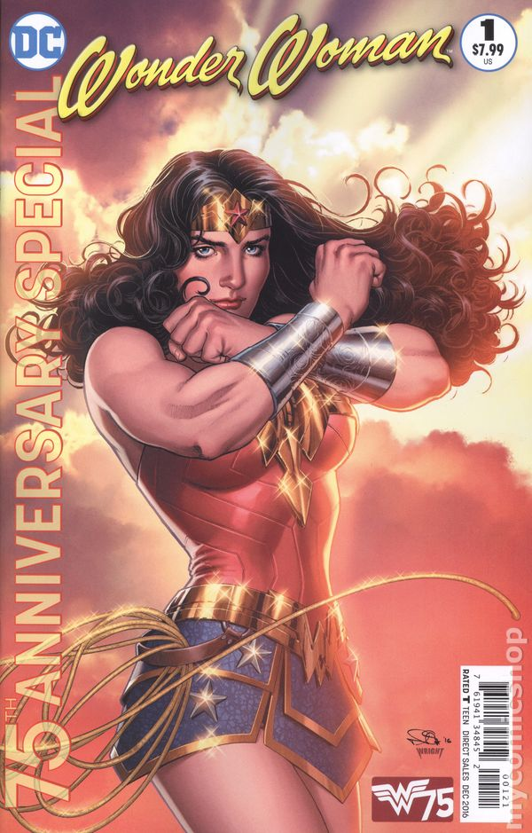 Wonder Woman Comic Books Issue 1-8021