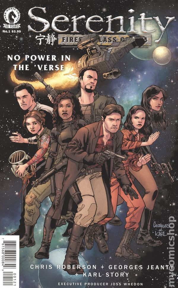 SERENITY NO POWER IN THE VERSE #2 Jeanty Variant Dark Horse NM  Comic Vault 35