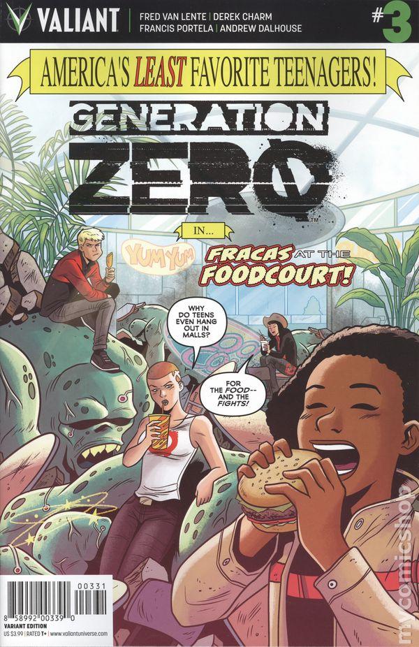 We Are the Future Comic TPB Valiant 2016 Generation Zero Volume 1