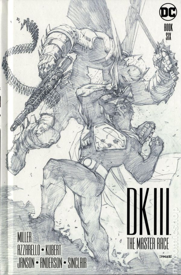 Dark Knight III DK3 Master Race #3 Batman DC Comic Cover A 1st Print