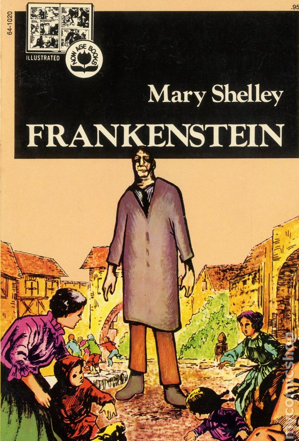 Frankenstein GN 1973 Pendulum Press Now Age Books Illustrated 1 REP