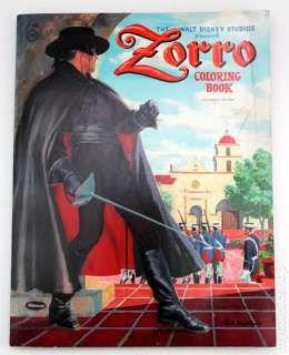 Zorro Coloring Book SC 1958 Whitman ic books