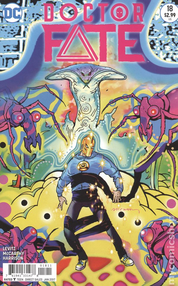 Doctor Fate 2015 Dc Comic Books