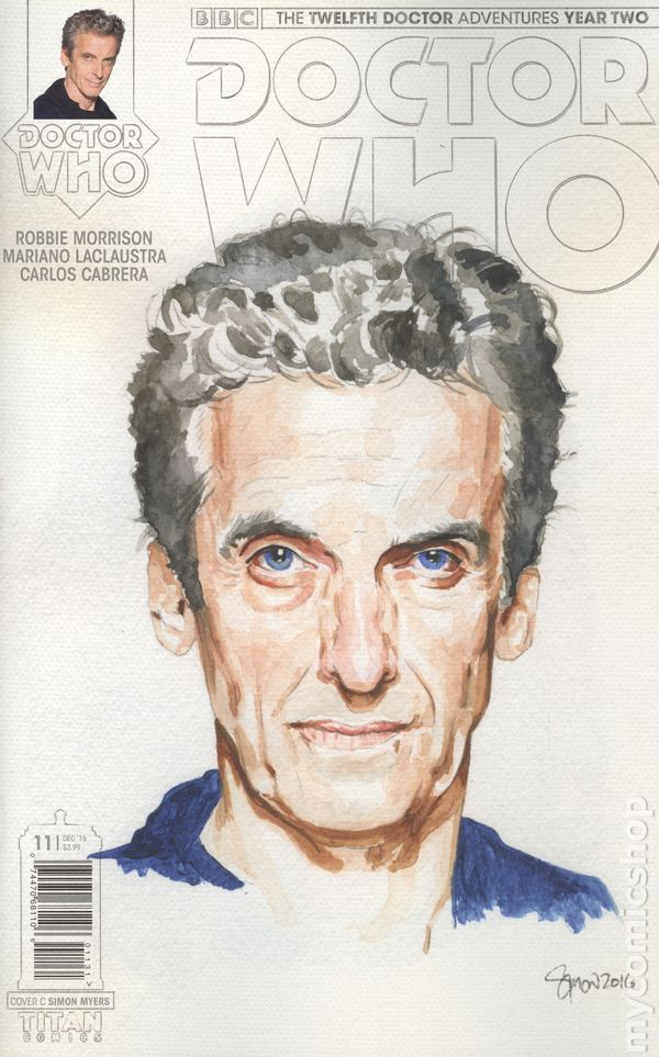 Doctor Who The Twelfth Doctor Year Two 2015 Comic Books