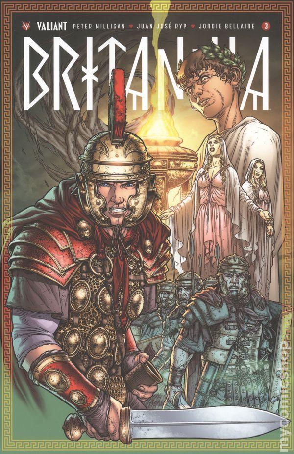 Britannia 2016 Valiant Comic Books