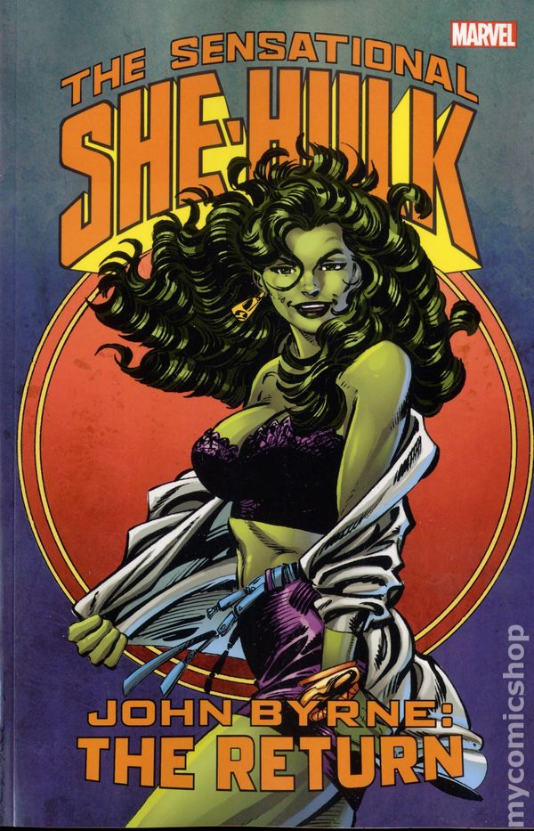 Sensational she hulk tpb 2016 marvel by john byrne the return sensational she hulk tpb 2016 marvel by john byrne the return comic books publicscrutiny Images