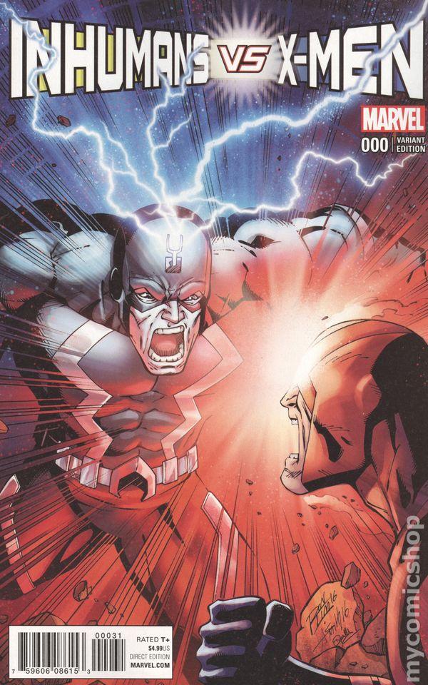 INHUMANS vs X-MEN #3 IVX Cho variant 2017 MARVEL Comics ~ VF//NM Comic Book