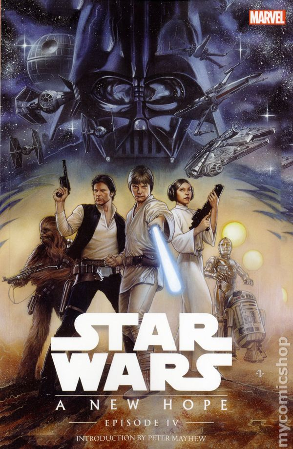 Star Wars A New Hope Comic Books Issue 1