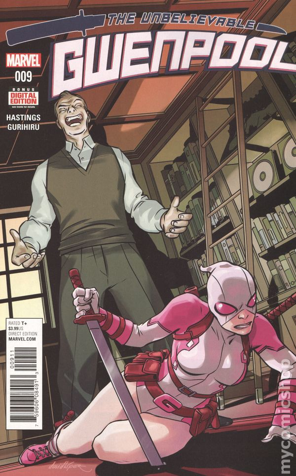 2017 MARVEL Comics The UNBELIEVABLE GWENPOOL #9 ~ VF//NM Comic Book