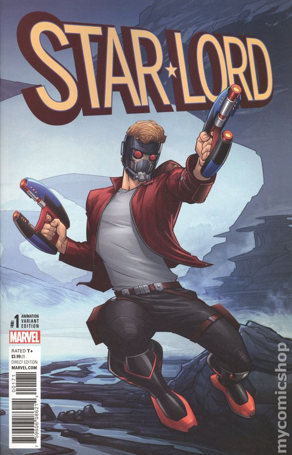starlord comic books issue 1