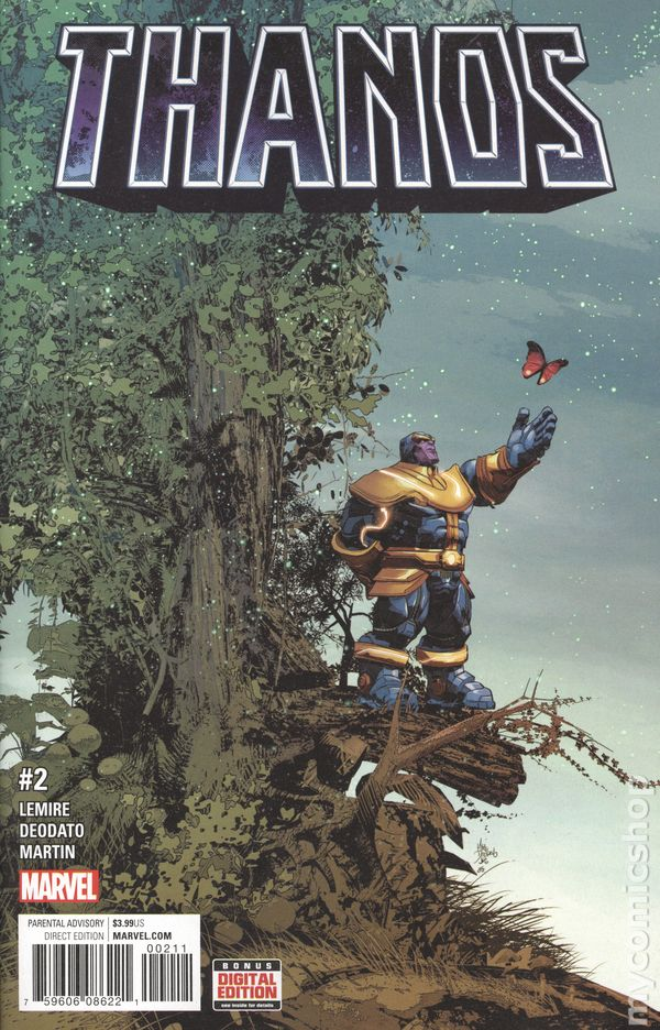 THANOS A GOD UP THERE LISTENING #1 2 3 4 1ST PRINT SET NM+