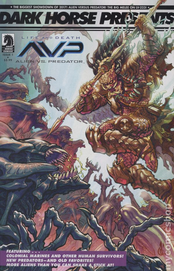 Aliens vs Predator comic books issue 1