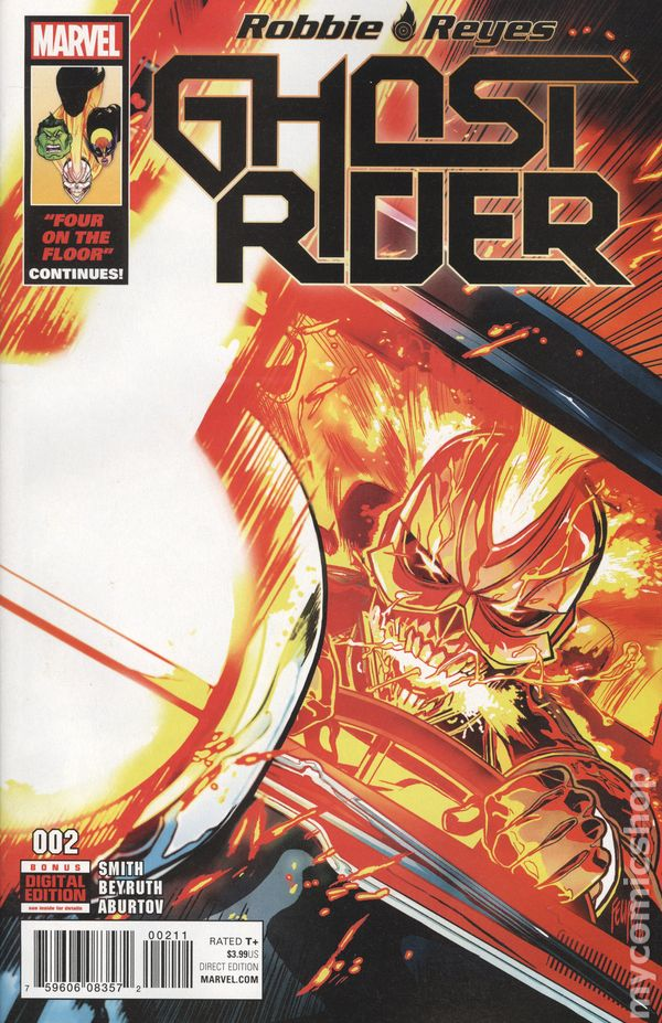 CB1176 Ghost Rider #4 VF//NM Robbie Reyes 2016