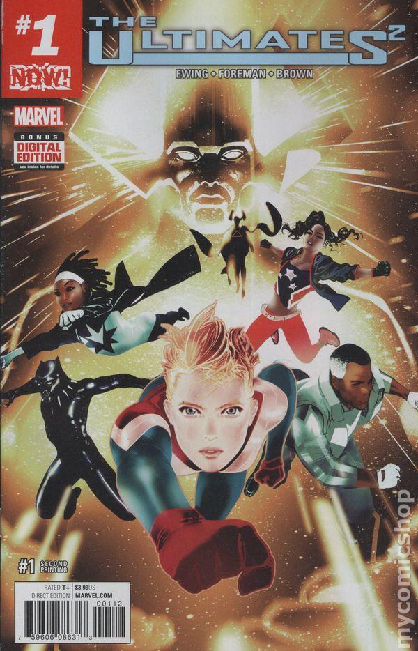 Ultimates 2 #1 Hip Hop Variant Marvel Comics 1st Print