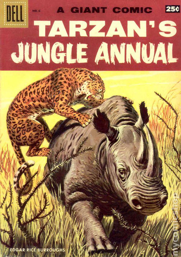 Dell Giant Tarzan S Jungle Annual 1952 Comic Books