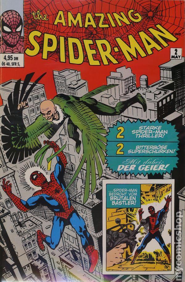 Amazing Spider Man 1999 German Fascimile Edition 2
