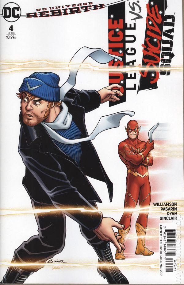 Justice League vs v38 Suicide Squad #3 Variant NM 2017, DC