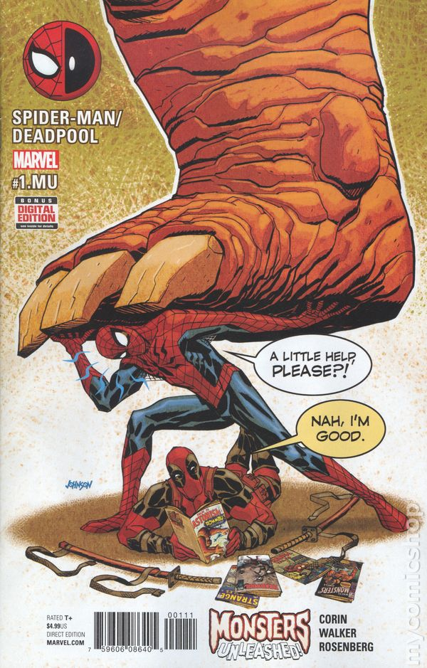 Spider Man Deadpool Comic Books Issue 1