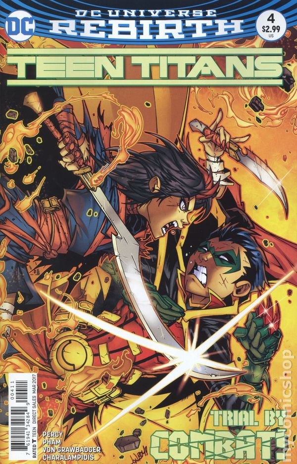 6th Series #29A 2019 NM Stock Image Teen Titans
