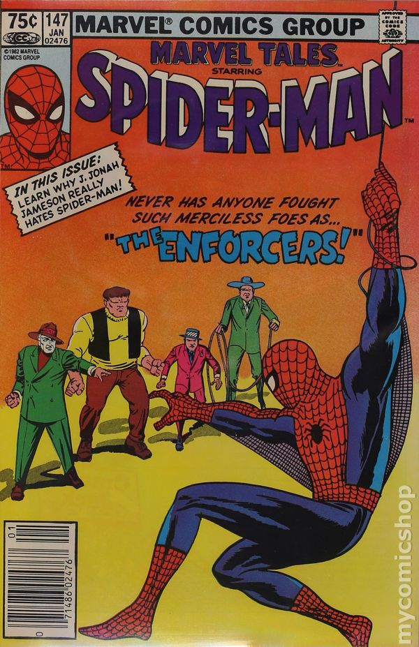 Marvel Tales #148 FN 1983 Stock Image