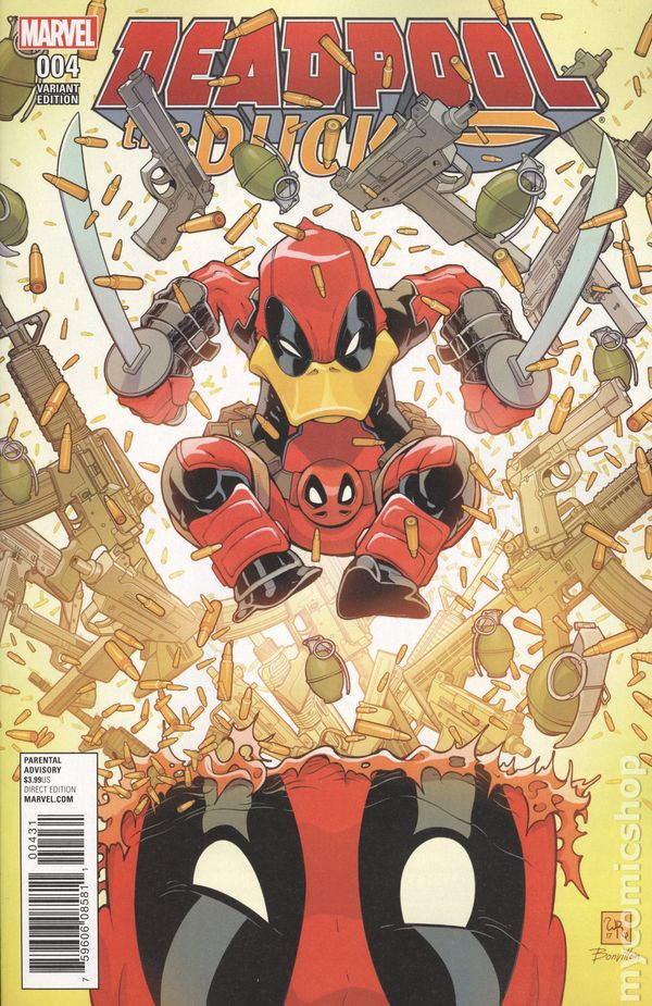 Marvel Deadpool Vol 4 #21 Marvel NOW! 2016 Event NM