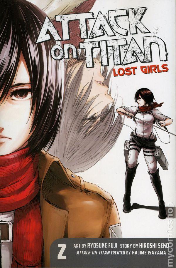 Attack on Titan Lost Girls GN (2016 Kodansha Digest) comic books