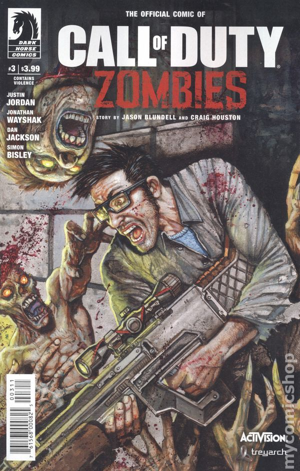 Call Of Duty Zombies 2016 Comic Books