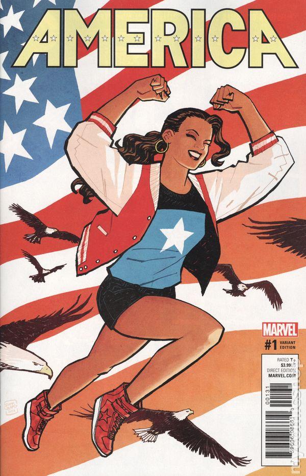 America #11 First Print Gabby Rivera Marvel Comics America Chavez