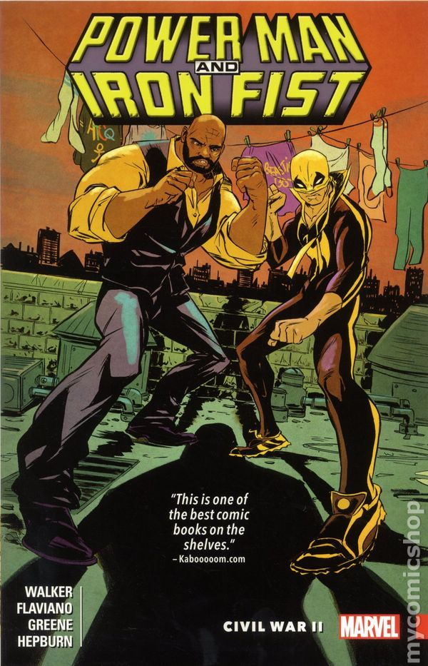 Power Man And Iron Fist TPB 2016 Marvel 2 1ST