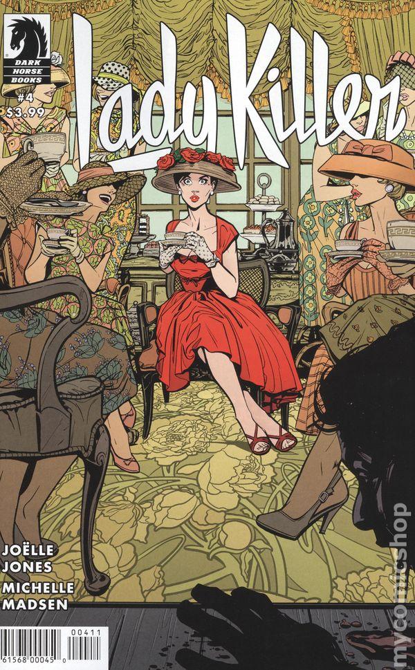 of 6 2016 DARK HORSE Comics ~ VF//NM LADY KILLER 2 #5