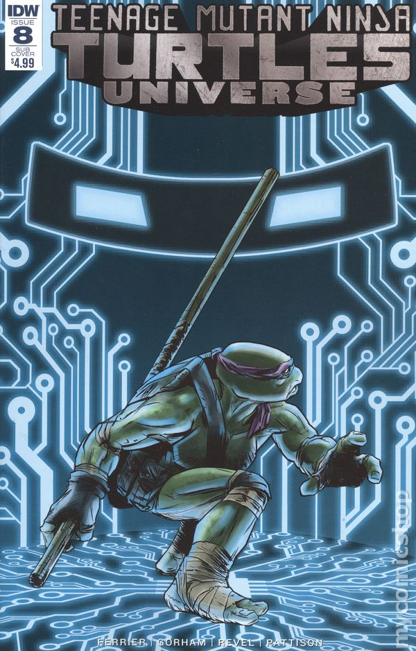 Teenage Mutant Ninja Turtles Universe 2016 IDW 8SUB