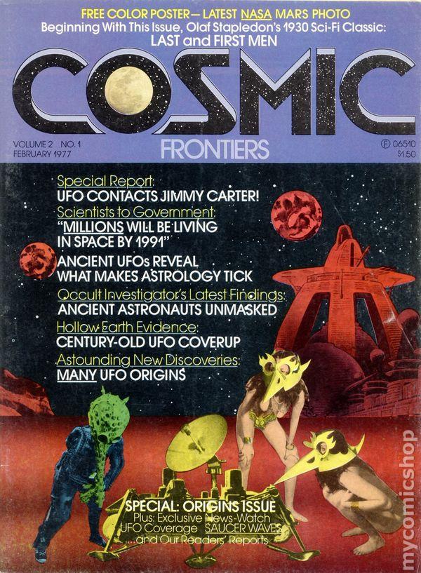 Cosmic Frontiers Magazine (1977 Cosmic) comic books