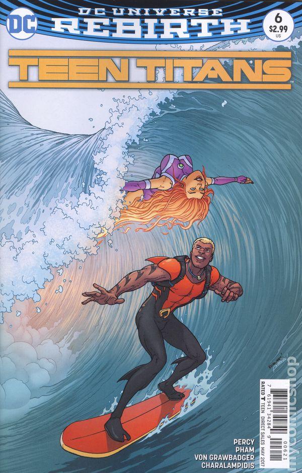 Teen Titans 2016 6Th Series Comic Books-2071