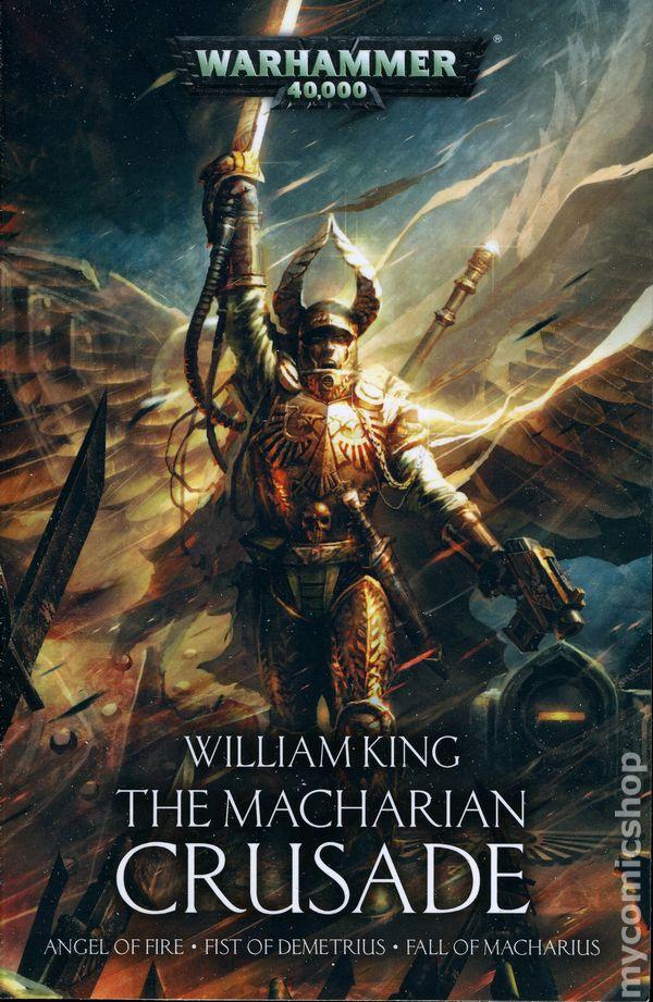 Comic Books In Warhammer 40k The Macharian Crusade