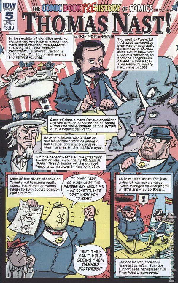 Comic Book History Of Comics 2016 IDW 5SUB