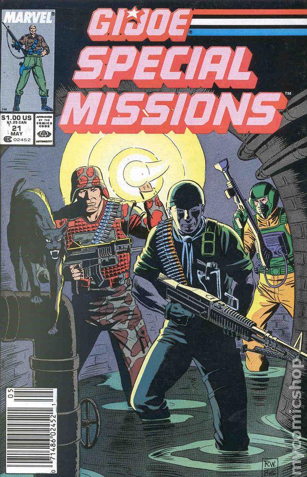 GI Joe Special Missions 1986 Mark Jewelers 21MJ