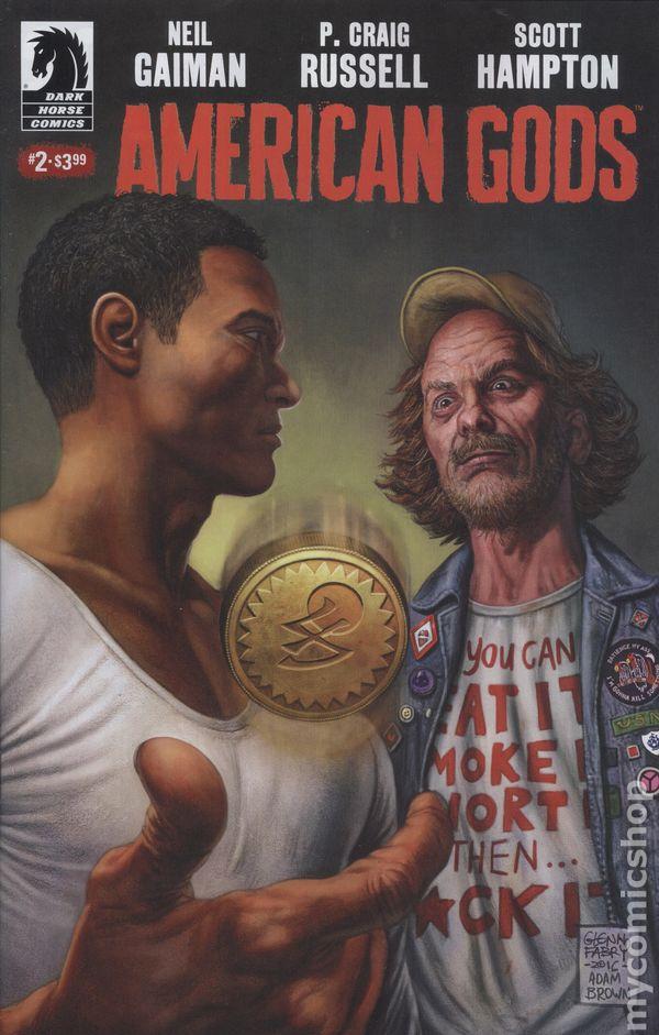 American Gods Shadows (2017) comic books